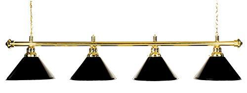 Buffalo Lampe - Solo 45CM SCHWARZ/Chrom