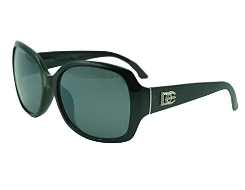 Dasoon - Gafas de sol DG gruesas, color negro
