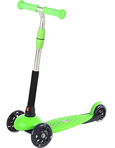 Product Image of the Voyage Sports 3 Wheel Scooter for Kids Ages 3-5, Light Up Wheels, Adjustable...