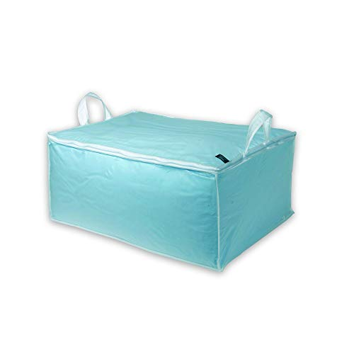 Compactor Home RAN2979 Milky Housse pour Couette Gamme Film Plastique Péva Blanc Translucide 50 x 70 x 30 cm