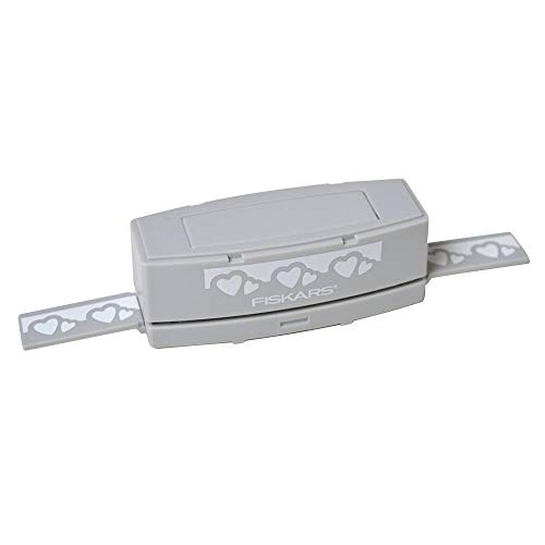 Fiskars Cartucho intercambiable para crear bordes, Corazón, para Perforadora de bordes (Producto Nº 1004688), 1014374