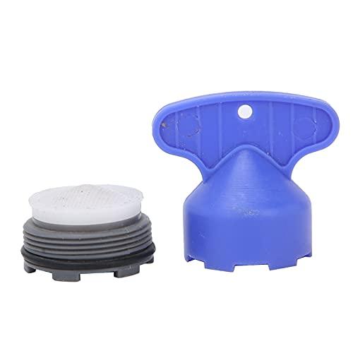 El filtro de grifo, el filtro de aireador produce muchas burbujas para la instalación y reemplazo de accesorios de grifo para hogares, hoteles, instalaciones públicas(M24)
