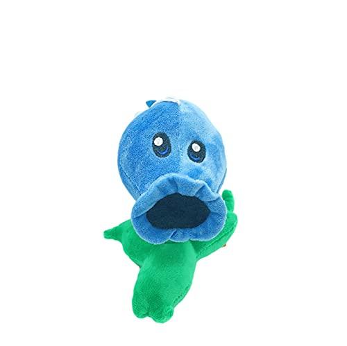 Therfk Plants Vs Zombies Juguetes De Peluche PVZ Blue Peashooter Muñeco De Peluche Suave para Niños Regalos para Niños 15Cm