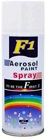 ceramic Turtuls Group F1 Aerosol Spray Paint (240 g, White)