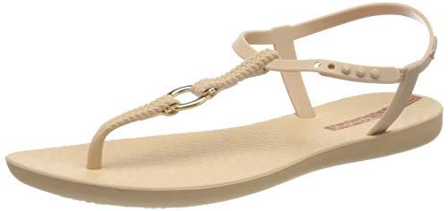 Ipanema Damen Charm VII Sand FEM T-Spangen Sandalen, Mehrfarbig (Beige/Beige 8778.0), 39 EU