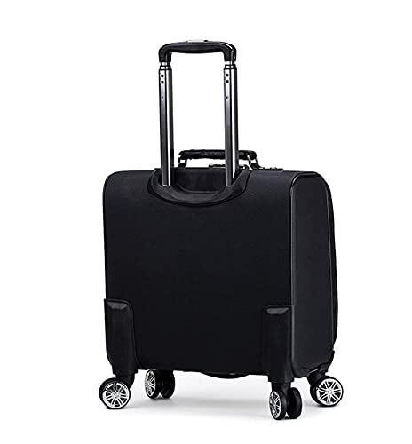 YUXINYAN Koffer Rollen 18 '' Reise Koffer auf Rädern Kabine CAPPLE ON Trolley Gepäcktasche Herren Business Koffer Mode Oxford Gepäcktasche Inliner Tasche Erwachsene (Color : 6, Luggage Size : 18)