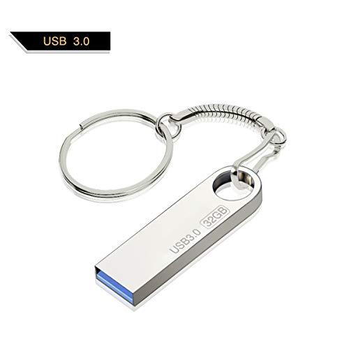 Chiavetta USB 32 GB, Gropwin impermeabile Memory Stick USB 3.0 Data Traveler con anello portachiavi regalo per famiglia e amici