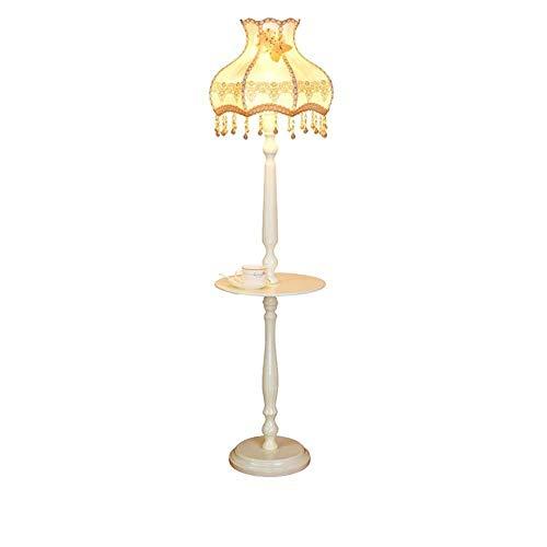 RSWLY Lámpara de pie Individual Sala de Estar Dormitorio de Noche Lámpara de Escritorio Estantería Estantería Mesa de la lámpara Vertical -160 CM Iluminación Interior