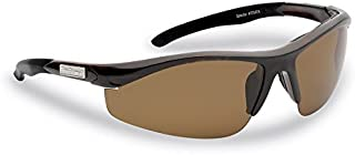 Flying Fisherman 7704TA Spector Polarized Sunglasses, Unisex-Adult, Tortoise Frames/Amber Lenses, One Size