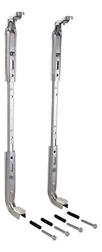 Sanitop-Wingenroth 27523 1 Wandkonsole VARIO für Flachheizkörper, 300-600 mm