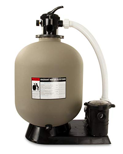Rx Clear Radiant Complete Sand Filter System | for Inground...
