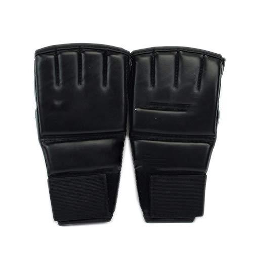 MMA Muay Thai Sanda Handschoenen Halfvinger Volwassen Taekwondo Fighting Fight Bokshandschoenen Handschoenen Hit Sandbags