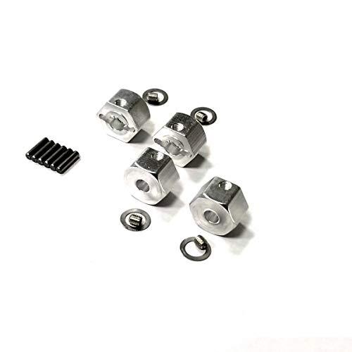 kingfly Aluminum HEX 12mm adapters/Locking Hub {8mm Thick}