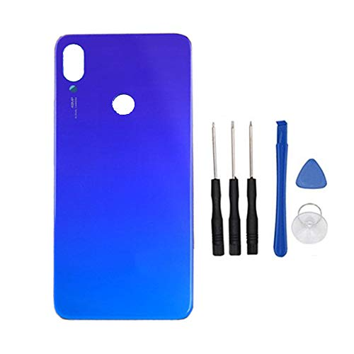 Cache Batterie pour Moto One Vision//Moto P50 XT1970 Blue soliocial Couvercle de Batterie Arri/ère