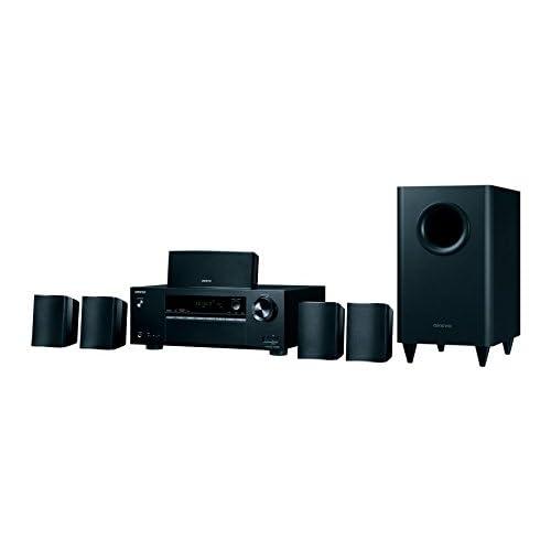 ONKYO HT-S3800 5.1 525W Compatibilité 3D Noir Système Home Cinema - systèmes Home cinéma (BD,DVD, 5.1 canaux, 525 W, DTS-HD Master Audio,Dolby Digital Plus,Dolby TrueHD, 100 DB, 0,06%)