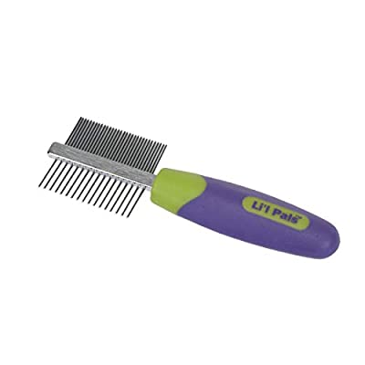 Coastal Pet - Li'l Pals - Double-Sided Dog Comb - Dog Grooming Supplies by Coastal Pet Products