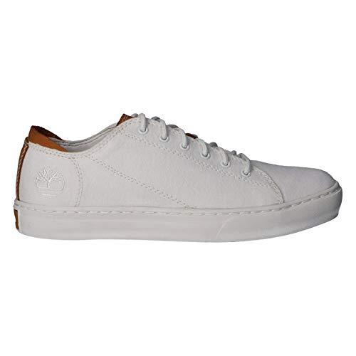 Timberland Sneaker für Herren A2AN8 Adventure White Canvas Schuhgröße 40