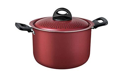Espagueteira Alum 22cm Loreto Vermelho Tramontina Vermelho
