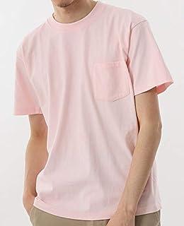 [ヘインズ] BEEFY-T ビーフィー 半袖 胸ポケット パックTシャツ [Lot/H5190] ヘビーウェイト ポケットTシャツ ポケT パックT インナー クルーネックTシャツ 無地 白 黒 ホワイト ブラック 厚手