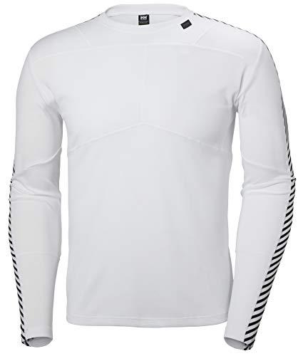 Helly Hansen HH LIFA Crew – T-shirt respirant et isolant pour homme – Vêtement de sport thermique pour une utilisation quotidienne – Idéal pour l'escalade, le ski ou la voile