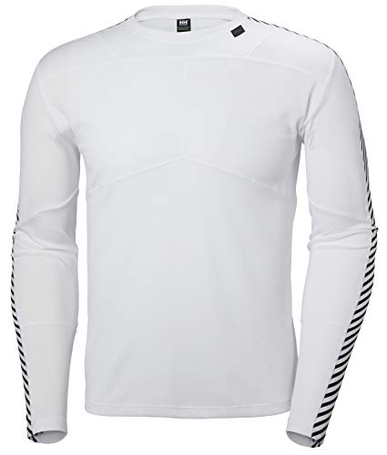 Helly Hansen HH LIFA Crew T-Shirt, Hombre, Blanco, L
