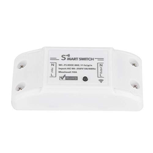Liineparalle Huishoudelijke wifi intelligente schakelaar, mobiele app, draadloze afstandsbediening, timing on/off-breaker AC 90-250V 50 HZ/60 HZ, meerweg verpakking