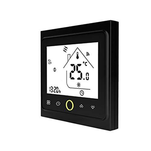 CHOULI THP1002UHP Termostato Smart WiFi Regolatore di Temperatura Riscaldamento a Pavimento Elettrico Nero