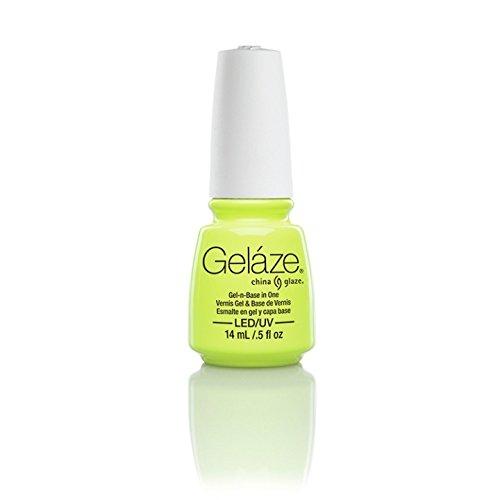 China Glaze Gelaze100% Gel-n-Base Polish, Celtic Sun, 0.5 Ounce