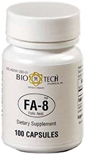 Sponsored Ad - Bio-Tech- FA-8 Folic Acid 800 mcg 100 caps