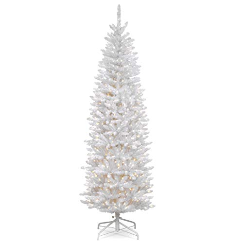 National Tree 6.5 Foot Kingswood Fir White Pencil Tree