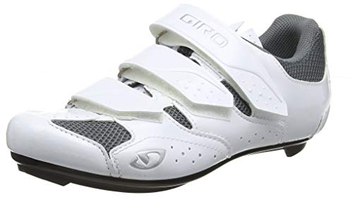 Giro Techne W Womens Road Cycling Shoe − 38, White/Silver (2020)