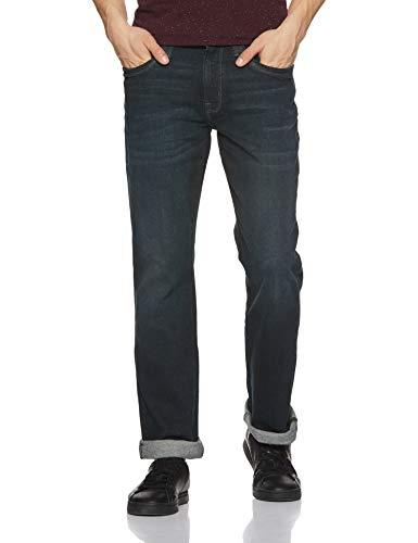 Wrangler Men's Relaxed Fit Jeans (W29372W2298B_JSW-Dark Stone_28W x 33L)