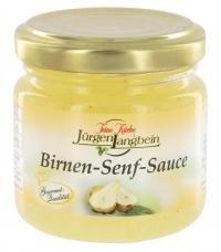Jürgen Langbein Birnen-Senf-Sauce 90 ML