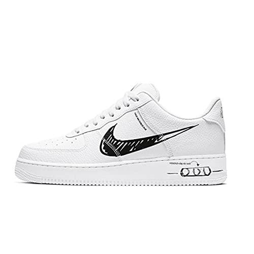 Nike CW7581-101, Scarpe da Ginnastica Uomo, Nero Bianco, 44 EU