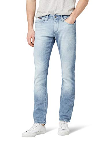 Tommy Jeans Hombre Scanton Jeans, Azul (Berry Light BLUE COMFORT 911), W34/L30