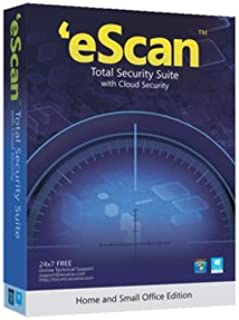eScan Total Security Suite with Cloud Security premium total security Antivirus 2019 includes Internet Security Cloud back up Files & Folders Protection [5 Devices 3 Years]