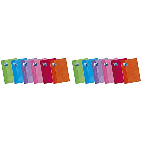 Oxford Classic 100105702 - Pack de 10 libretas grapadas de tapa blanda, A5+ + Classic - Pack de 10 libretas grapadas de tapa blanda, A5+