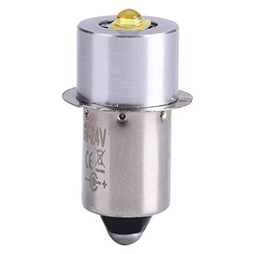 Bombilla de linterna LED de actualización, 5W 6-24V P13.5S Pieza de repuesto...