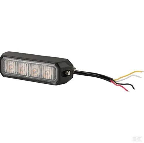 Kramp LED Frontblitzer Heckblitzer Orange 4 LED LA20013