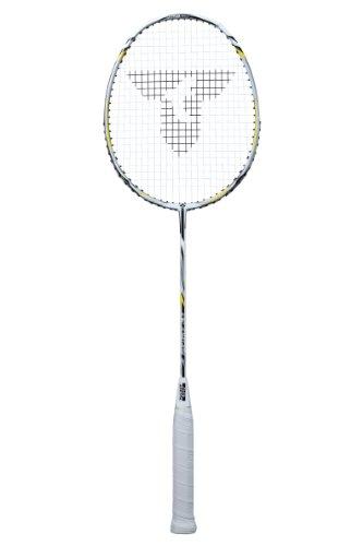 Talbot Torro Badminton schläger Isoforce 211.3 Lite, Weiß/Silber/Grün, M