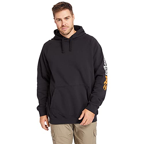 Timberland PRO Men's Hood Honcho Sport Pullover (Big/Tall), Black, 3XLT