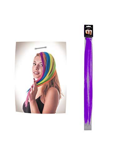 Party Pro- Mèche à Clipser, Unisex-Adult, 86243, Violet, Taille Unique