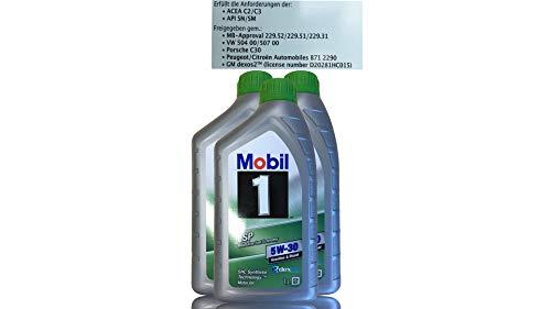 Mobil 1 ESP 5W-30 olio motore completamente sintetico 154282