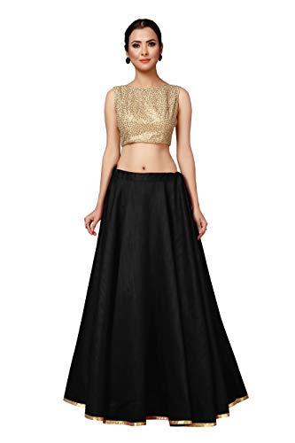 STUDIO Shringaar Women's Full Flare Full Volume Full Round Circle Skirt Lehenga