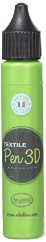 Aladine - 80786 - Textile Pen 3D - Vert Nacre
