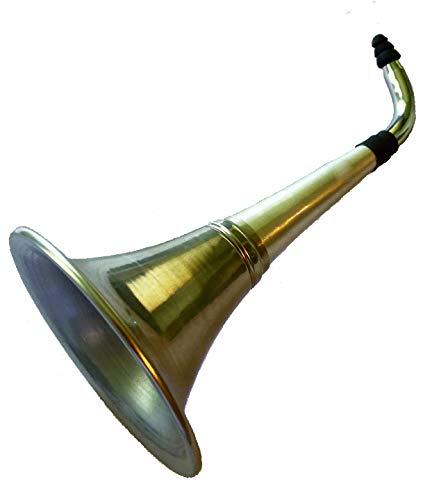 Solrus Long Neck Ear Trumpet for The Hard of Hearing Crowd. Fun Gag Gift!