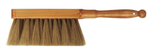 da Vinci Graphic Design Series 2486 Dusting Brush, Brown Horse Hair with Lacquered Wood Handle - Made in Germany