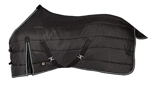 Pfiff 100405Winnipeg Manta de Invierno para Caballo, Color Negro