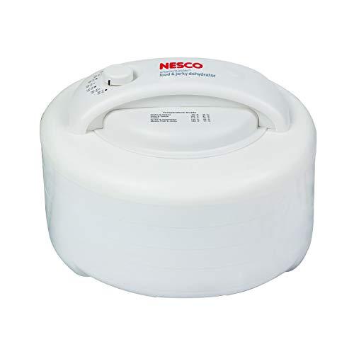 Nesco FD-60 Snackmaster Express Food Dehydrator, 4-Trays - MADE IN USA