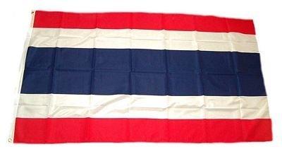 Flaggenking Thailand Flagge/Fahne, mehrfarbig, 150 x 90 x 1 cm, 17006